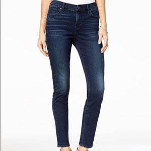 Lucky Brand Ava Skinny Jeans High Rise Dark Wash